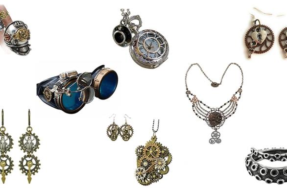 bijoux steampunk