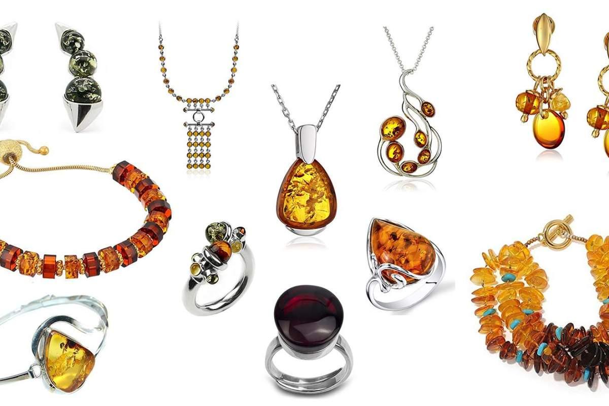 bijoux ambre femme